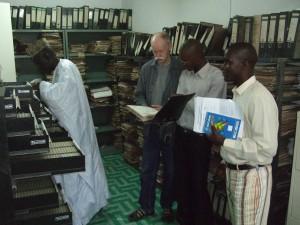 Arkivet på NCAC, Gambia