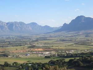 Berg kring Stellenbosch. Foto: Ingrid Åkesson