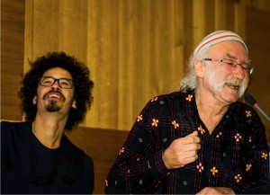 Eagle-Eye Cherry och Steve Roney. Foto: Ulla Andesong