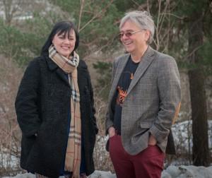 Åsa Jinder och Dan Lundberg