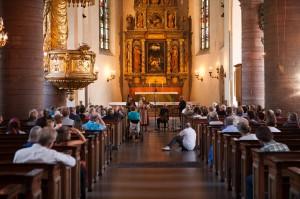 Mästerspelmanskonsert i Jakobs kyrka.