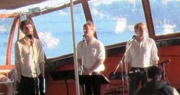 Tree´s a chord sjöng Shantys i tre stämmor. Foto: Johan Sturk.