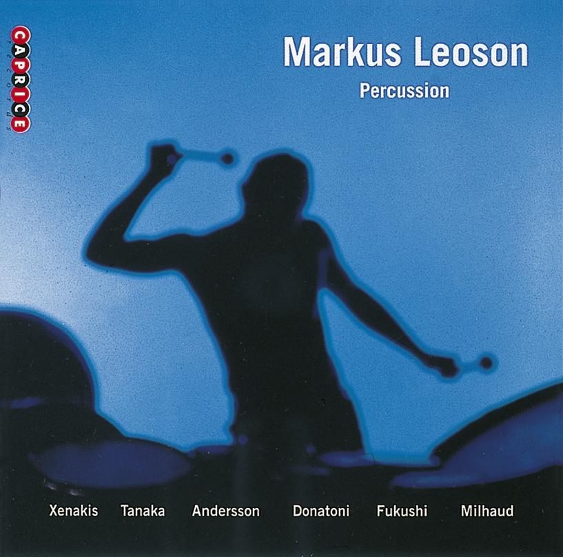 Marcus Leoson, percussion