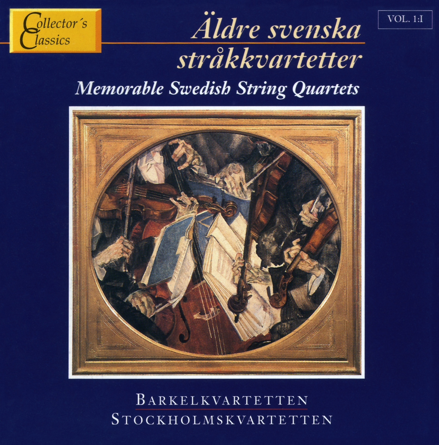 Äldre Sv.Stråkkvartetter 1 Col