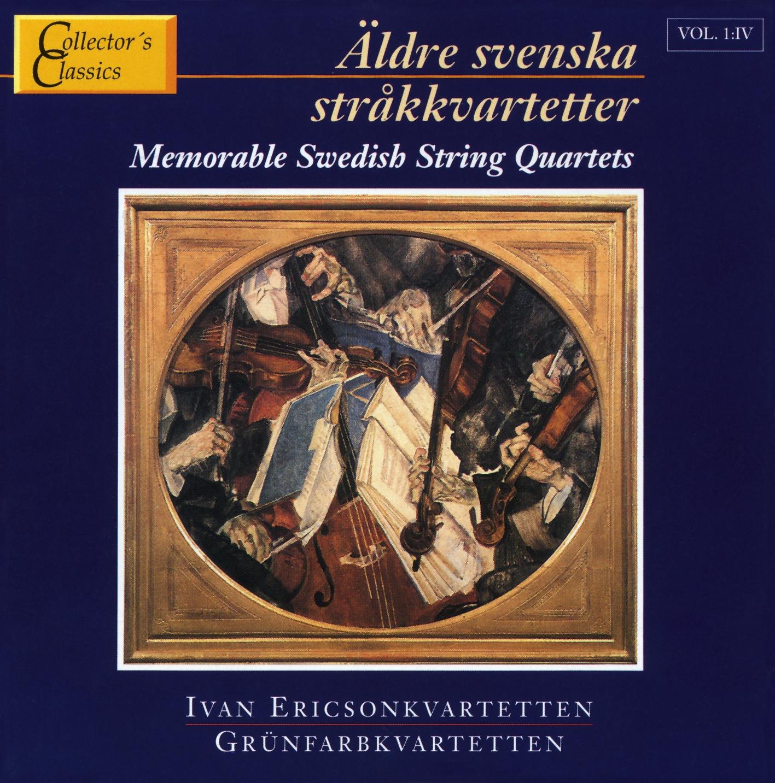 Äldre Sv.Stråkkvartetter 4 Col