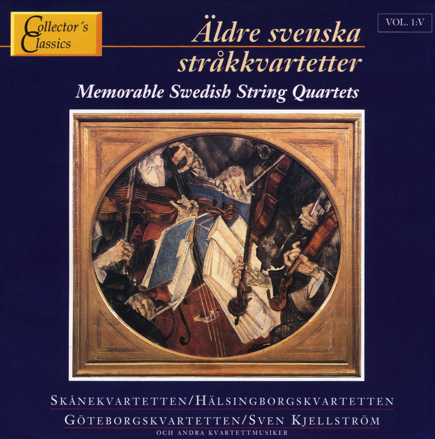 Äldre Sv.Stråkkvartetter 5 Col