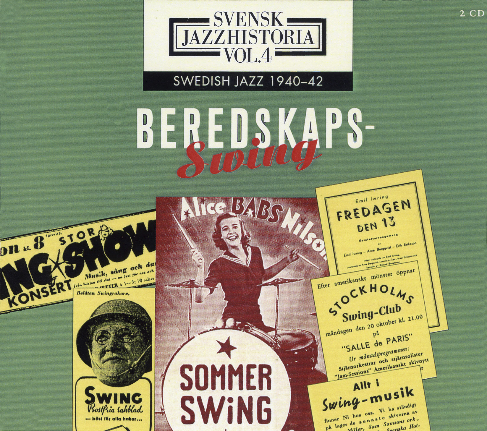 Beredskapsswing vol. 4, 1940-42