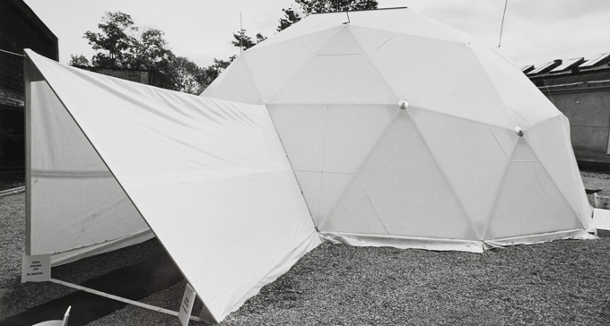 Bucky Dome 1971. Foto: Erik Cornelius/Moderna Museet