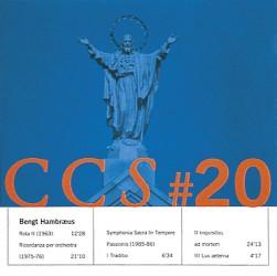 Bengt Hambraeus CCS #20