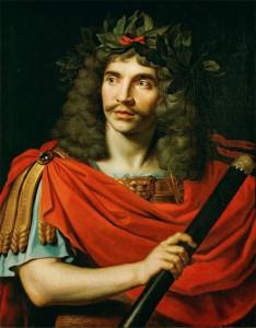 Molière, målning av Nicolas Mignard (1658)