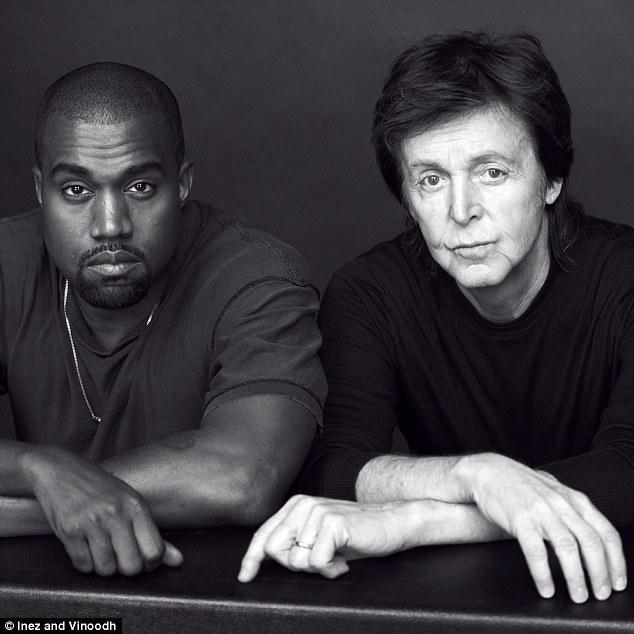 Kanye West och Paul McCartney