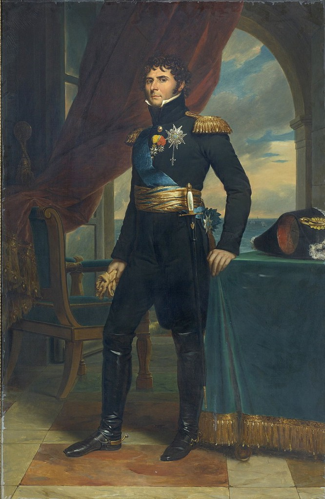 Karl XIV Johan som kronprins 1822 (målning av François Gérard)