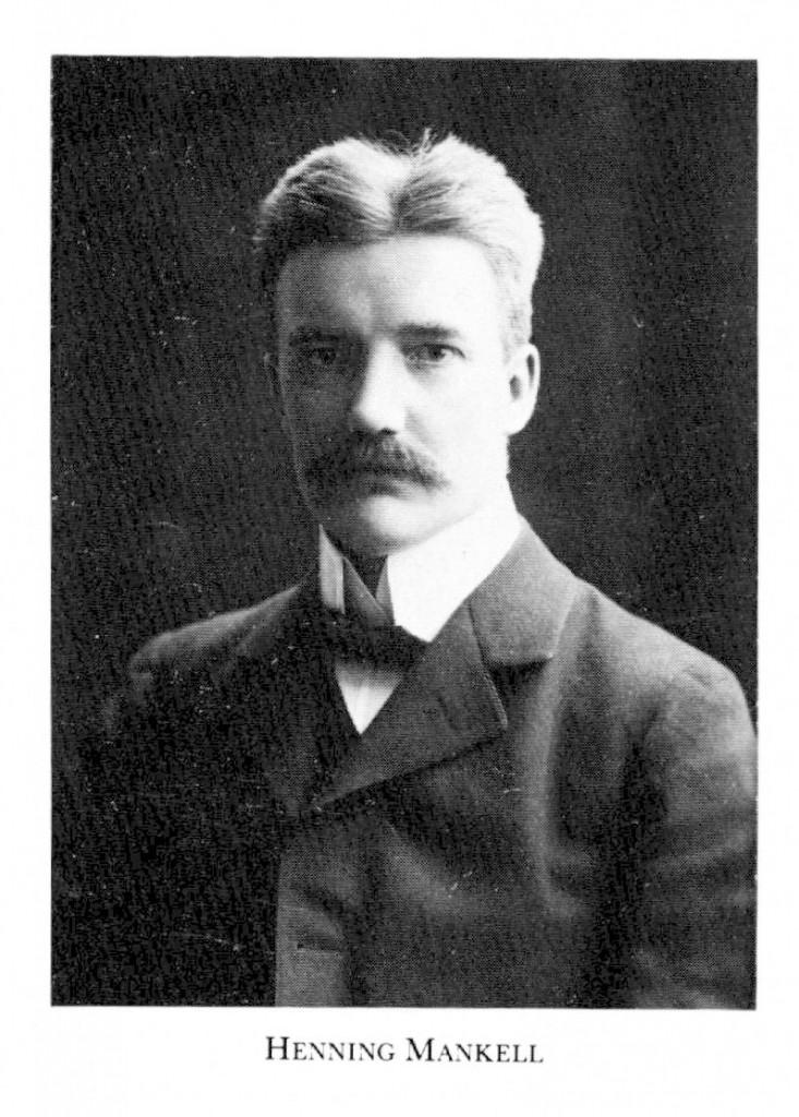 Tonsättaren Henning Mankell (1868-1930). Bild från Riksarkivet.