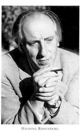 Hilding Rosenberg (1892-1985). Bild från Riksarkivet.