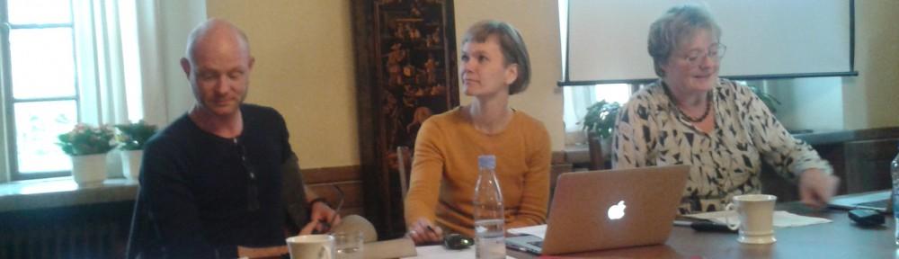 Dansk panel bestående av Johannes Skjelbo, Kristine Ringsager och Eva Fock. Foto: Ingrid Åkesson.