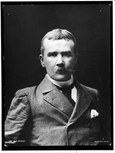 Porträtt av Emil Sjögren