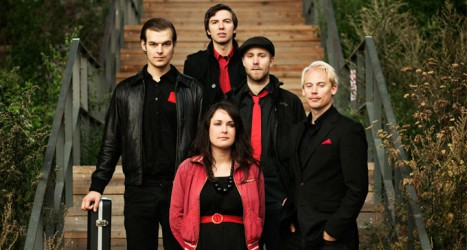 Elin Larsson Group uppträder på 12 Points festival i Umeå. Foto: Mikael Almehag