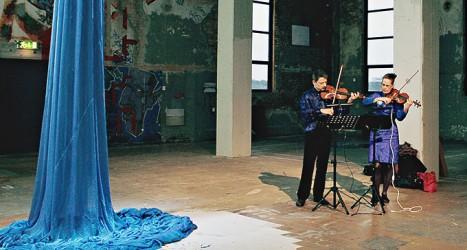 Sinfonia per due violini Foto: Evelina Hultqvist