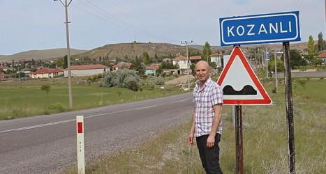 Tillbaka till Kozanli Foto: Anders Hammarlund