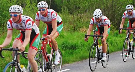 Cykelkonsert etapp 2 Foto: Mölndals Cykelklubb
