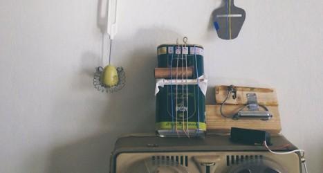 Några objekt som Toncirkeln skapar musik av. Foto: Toncirkeln
