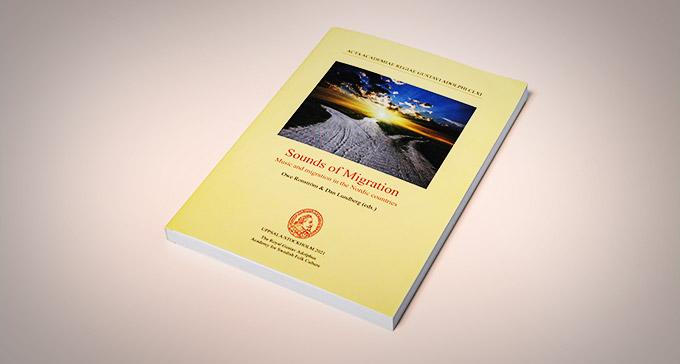 """Bild på boken """"Sound of Migration""""."""