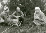 Karin Edvards Johansson, Matts Arnberg och Elin Lisslass