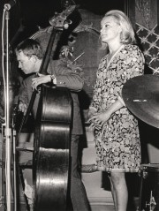 Palle Danielsson och Monica Zetterlund, Historiska museet, Stockholm, maj 1967