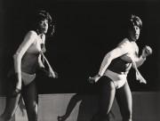 Dansöserna Denise Bundy och Brenda Johnson, Puttes, Stockholm, våren 1966