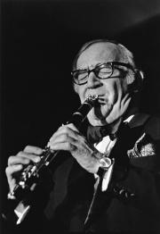 Benny Goodman, Umeå Jazzfestival, oktober 1976