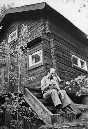 Bertil Strandberg, Kullbacka, sommaren 1973