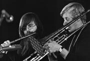 Lars-Göran Ulander och Lars Lystedt, Umeå Jazzfestival, 1970