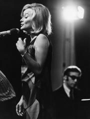 Monica Zetterlund och Steve Kuhn, Stockholms Jazzfestival, augusti 1968