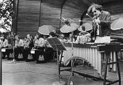 Umeå Big Band och Gary Burton, Soliden, Skansen, Stockholm, sommaren 1971