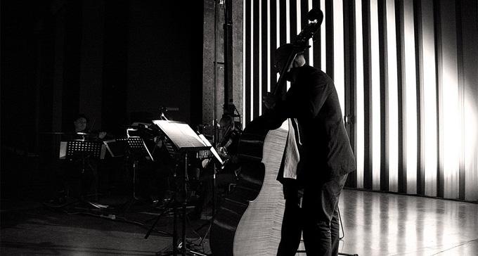 Gavin Bryars på Tate Modern i London. Foto: Georg Schroll/Flickr (CC)