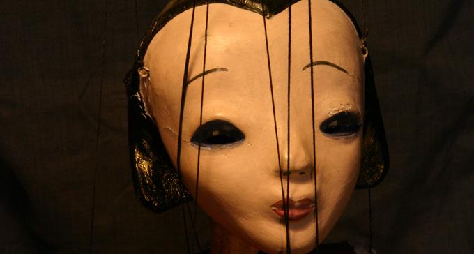 Marionettfigur av Michael Meschke. Foto: Michael Kersten