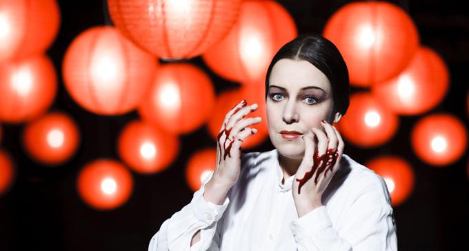 Nina Stemme i Turandot på Kungliga Operan 2013. Foto: Gisle Björneby