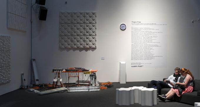 Bild från utställningen Propro Prop på Moderna Museet i Malmö. Foto: Åsa Lundén, Moderna Museet