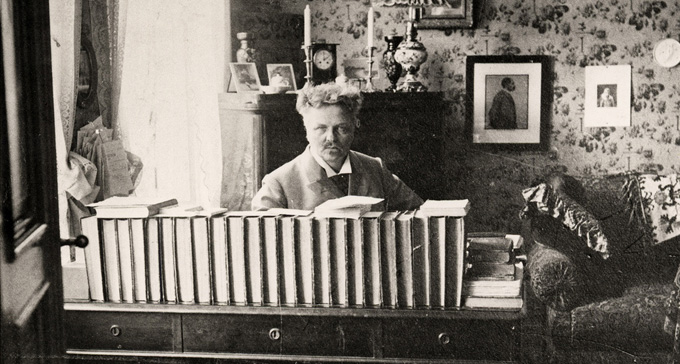 August Strindberg. Foto: Kungliga biblioteket/Flickr (CC)