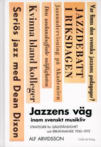 Omslag Jazzens väg