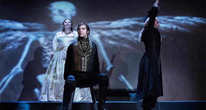 Föreställningen Enrico di Borgogna på Vadstena-Akademien 2012. Foto: Markus Gårder