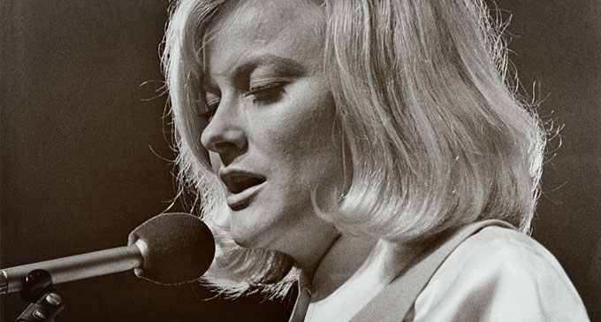 Monica Zetterlund 1968. Foto: Christer Landergren