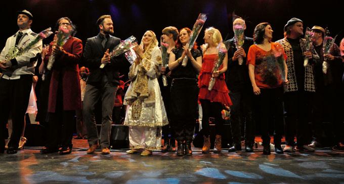 Folk- och världsmusikgalan 2013. Foto: Peter Ahlbom