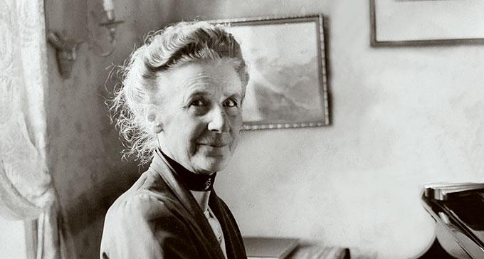 Alice Tegnér 150 år. Foto: Karl Sandels/Bonnierarkivet/Scanpix