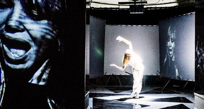 Nico - Sphinx of Ice på Dramaten med Fanny Risberg i huvudrollen. Foto: Roger Stenberg/Dramaten