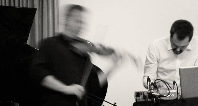 George Kentros & Mattias Petersson på APAP i New York januari 2012 Foto: Ragnar Berthling