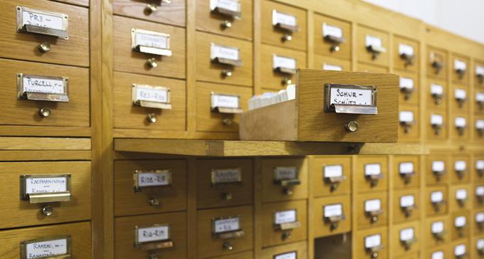 Samlingarna finns på Musik- och teaterbiblioteket. Foto: Miki Anagrius