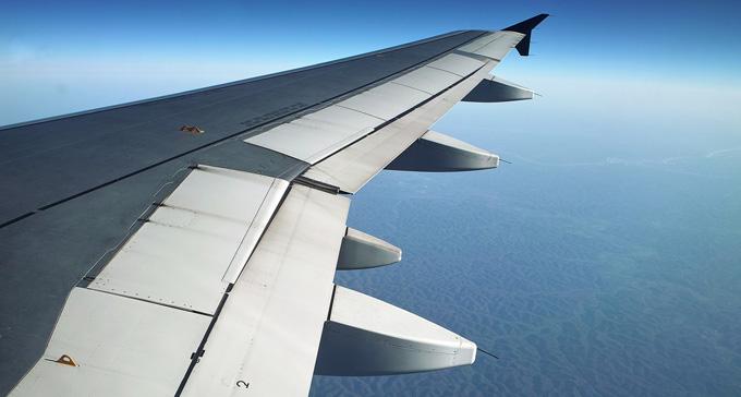 Flygplansvinge. Foto: dcJohn/Flickr (CC)