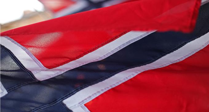 Norsk flagga. Foto: Zoonabar/Flickr (CC)