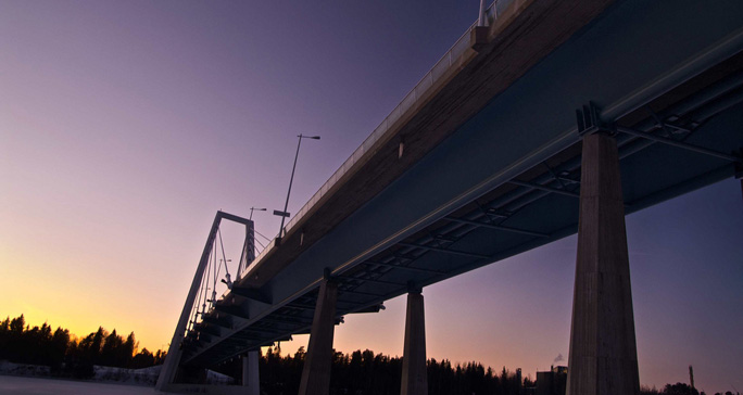 Kolbäcksbron i Umeå. Foto: Samuel Kvarnbrink/Flickr (CC)